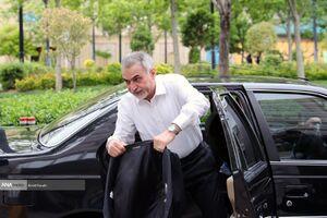 عکس/ ورود حسین فریدون به دادگاه