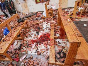 فیلم/ لحظه انفجار هتلی در سریلانکا توسط داعش