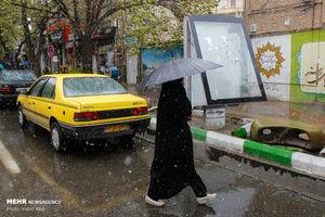 عکس/ بارش برف بهاری در تبریز