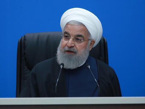 فیلم/ کنایه سنگین روحانی به سعودیها