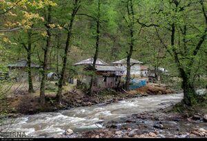 عکس/ ساخت خانه در حریم رودخانه