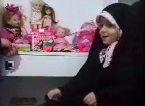 هدیه دختر بچه شهید مدافع حرم به کودکان سیلزده +فیلم