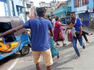 عکس/ وقوع انفجاری دیگر در پایتخت سریلانکا