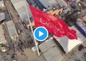 ویدئویی دیدنی از اربعینیها در مناطق سیلزده