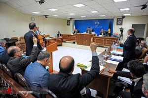 ششمین جلسه دادگاه رسیدگی به اتهام مدیر عامل سابق شرکت بازرگانی پتروشیمی
