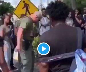 حمله وحشیانه پلیس فلوریدا به یک نوجوان 15 ساله +فیلم