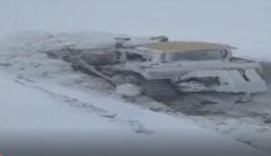 فیلم/ برف ۶ متری ورزقان در دومین ماه بهار ۹۸