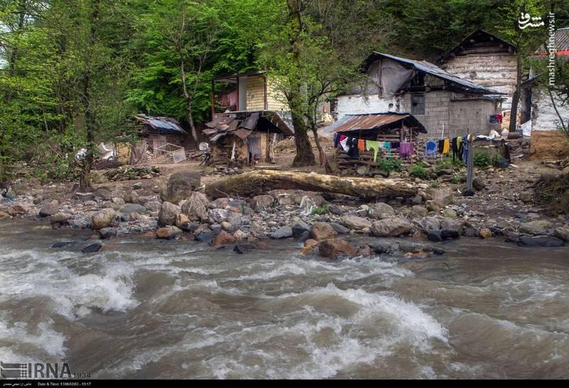 عکس/ ساخت خانه در حریم رودخانه - 8
