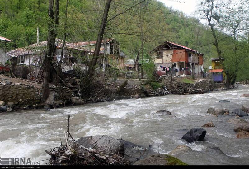 عکس/ ساخت خانه در حریم رودخانه - 4