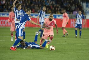 بارسلونا، ۳ امتیاز تا فتح لالیگا