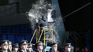 عکس/ زیردریایی جدید روسیه