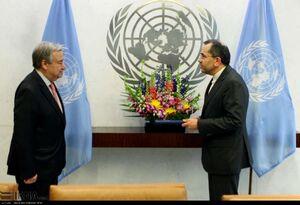 تقدیم استوارنامه تخت روانچی به دبیر کل سازمان ملل