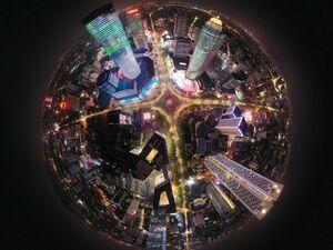 تصویر 360درجه از نانجینگ چین