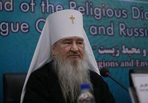 فیلم/ نگاه جالب اسقف اعظم تاتارستان به رهبر انقلاب