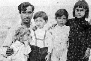عکس/ دوران کودکی زنده یاد جمشید مشایخی