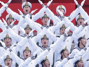 عکس/ هفتادمین سالروز بنیانگذاری نیروی دریایی چین