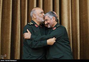 عکس/ مراسم تودیع و معارفه فرمانده سپاه پاسداران
