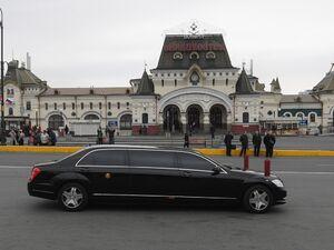 خودروی «اون» در سفر به روسیه