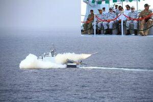 عکس/ تست موشک کروز توسط پاکستان