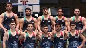 قهرمانی مقتدرانه آزادکاران ایران با۷ طلا و ۳برنز