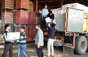 ارسال کمکهای مردم سوریه به مناطق سیلزده ایران