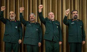 فرماندهان ۴ دهه سپاه