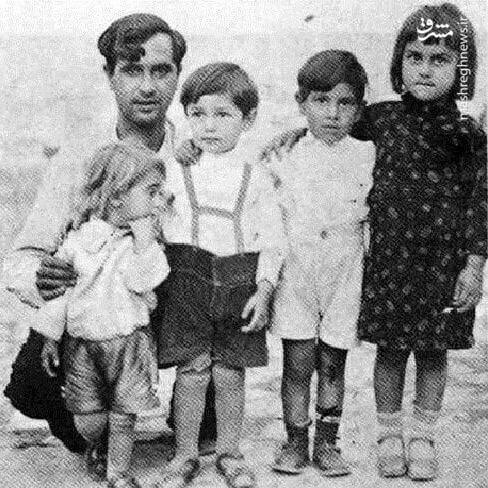 عکس/ دوران کودکی زنده یاد جمشید مشایخی - 2