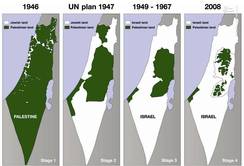 غده سرطانی اسرائیل»؛ رژیم صهیونیستی از فلسطین به کدام نقطه دنیا فرار خواهد کرد؟ +تصاویر