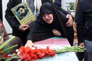 تشییع پیکر شهید مدافع حرم «مجید قربانخانی» در مشهد