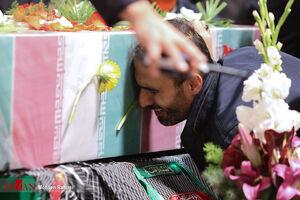 فیلم/ لحظه بازگشت پیکر مطهر شهید مجید قربانخانی
