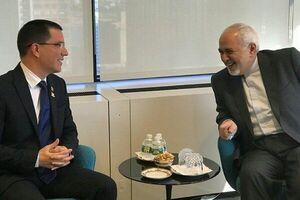 دیدار ظریف با وزیر امور خارجه ونزوئلا