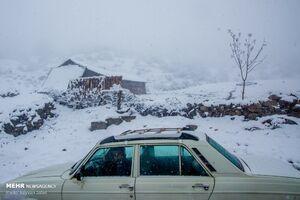 فیلم/ برف سه متری در زنجان!