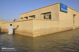 عکس/ مناطق سیل زده زابل