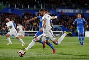 ختافه ۰ - رئال مادرید ۰/ بازگشت آبیها به رتبه چهارم با متوقف کردن شاگردان زیدان