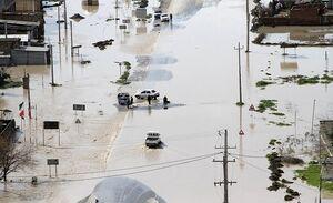 آخرین وضعیت سیلاب در آققلا