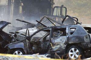 تصادف زنجیرهای مرگبار در آمریکا