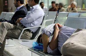 تأخیر ۱۴ ساعته پرواز مشهد-تهران شرکت تابان