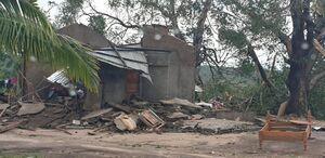 طوفان مهیب در موزامبیک