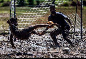فوتبال در شالیزار