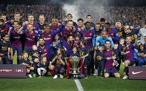 قهرمانی بارسلونا