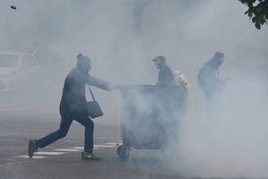 فیلم/ شورش زباله جمع کنهای پاریس