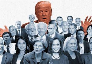 رقبای احتمالی ترامپ در انتخابات ۲۰۲۰/ از معاون رئیسجمهور تا کارآفرین و نویسنده
