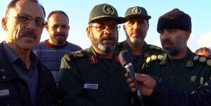 گزارش فرمانده سپاه گلستان از وضعیت آققلا