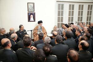 دیدار فرماندهان نیروی انتظامی با رهبرانقلاب