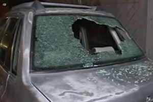 حمله اوباش قمه کش به خودرو سه زن