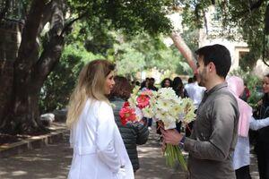 چهارشنبه مهدوی در لبنان +عکس