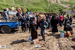 وضعیت سیلزدگان پلدختر یک ماه پس از سیل ویرانگر