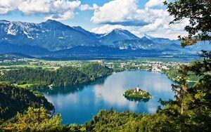 عکس/ دریاچهای زیبا در اسلوونی