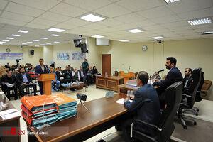 عکس/ هشتمین جلسه رسیدگی به پرونده شرکت پتروشیمی