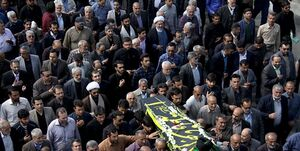 عکس/ تشییع پیکر امام جمعه سابق سمنان